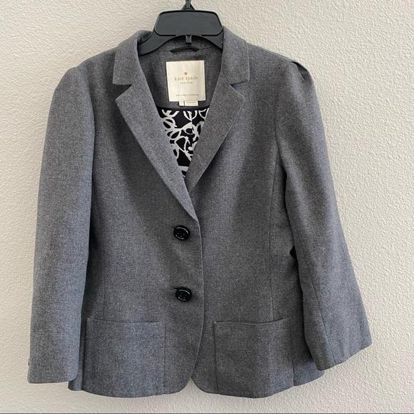 Kate Spade Melita wool blend blazer